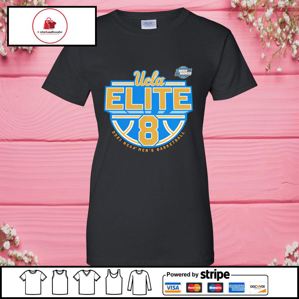 Blue 84 Kids UCLA Bruins National Basketball Championship T-Shirt 2021 Gold Large