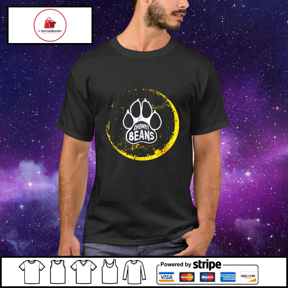 Chonke Beans Official Wolf Conservation Foot Print shirt