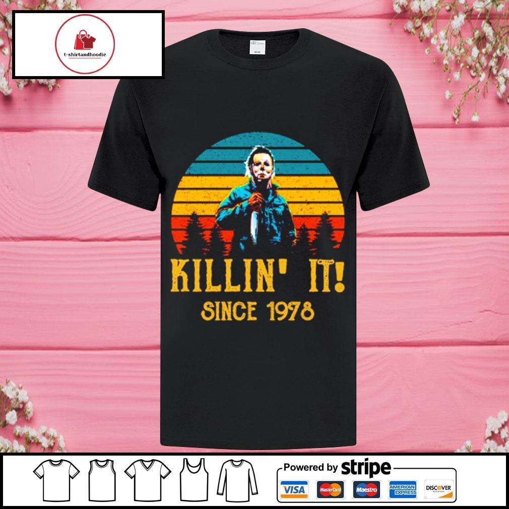 Horror Killin' it since 1978 vintage shirt