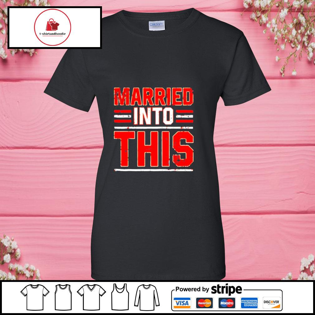 Married into this Cleveland Browns s ladies-tee