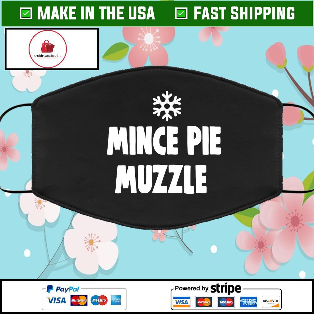 Mince pie muzzle Face Mask Washable