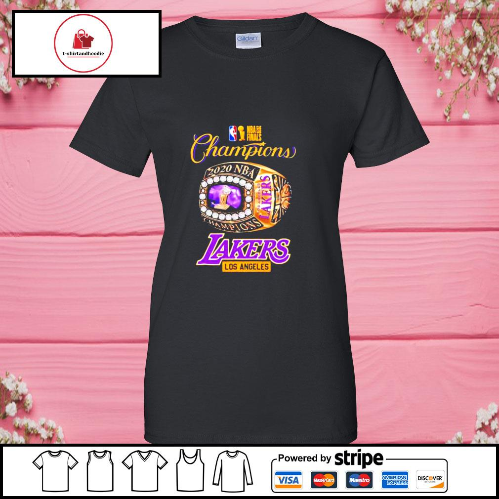 Nba finals 2020 champions los angeles lakers s ladies-tee