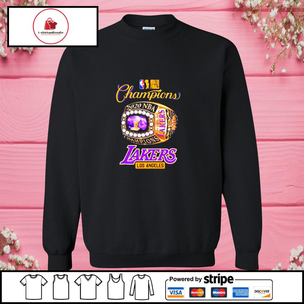 Nba finals 2020 champions los angeles lakers s sweater