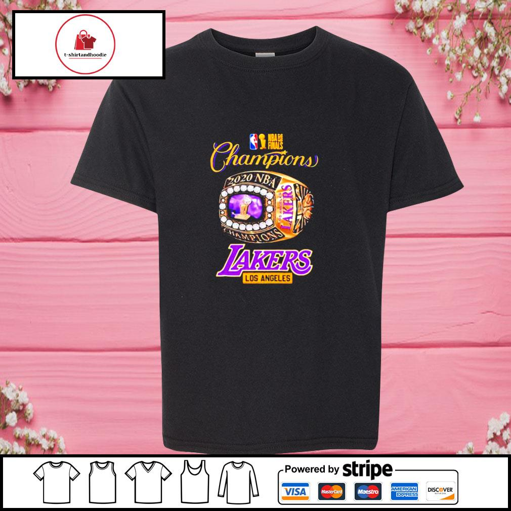 Nba finals 2020 champions los angeles lakers s youth-tee