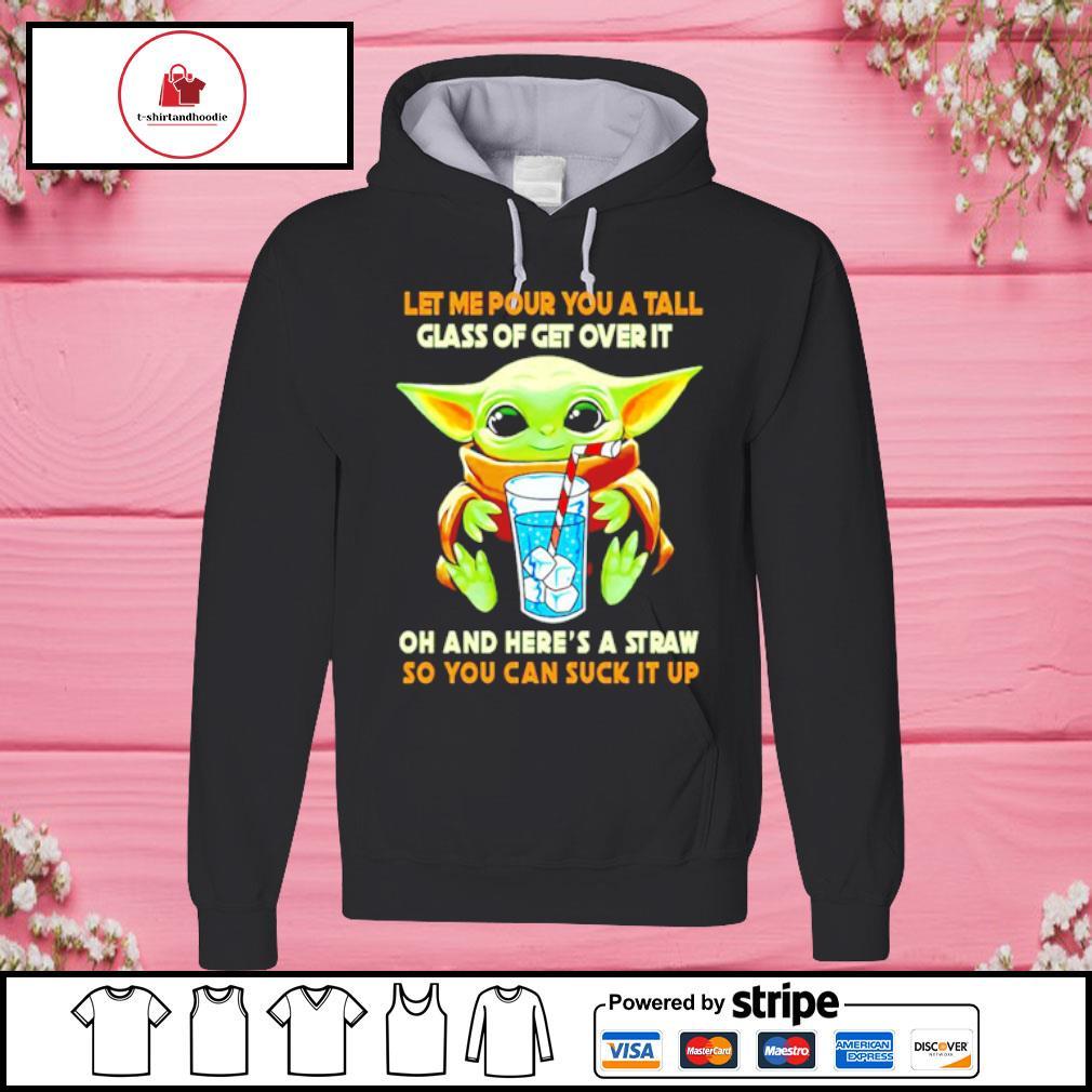 Baby Yoda This Way Up Unisex Pink Hoody
