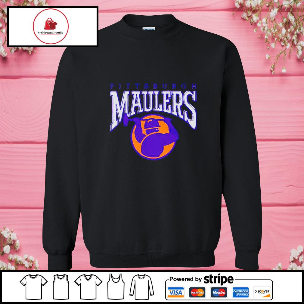 Pittsburgh maulers s sweater